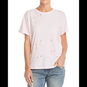 Michelle by Comune Distressed T-Shirt White S
